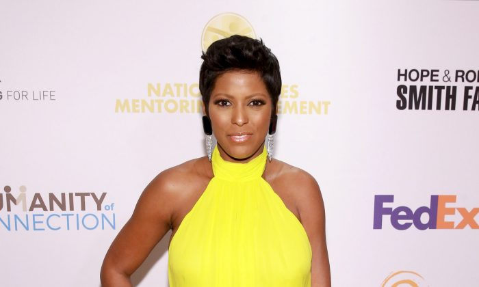 Tamron Hall at the National CARES Mentoring Movement 4th Annual For The Love Of Our Children Gala at The Ziegfeld Ballroom on Feb. 11, 2019, in New York City. (Bennett Raglin/Getty Images for Gala for National CARES Mentoring Movement)