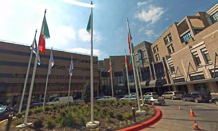 A stock photo of a hospital (Google Maps Street View/Screenshot)
