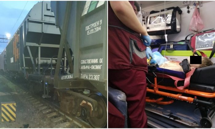 Thrill-Seeking Teenager Blown Off Train Roof By 25,000-Volt Electrical Arc