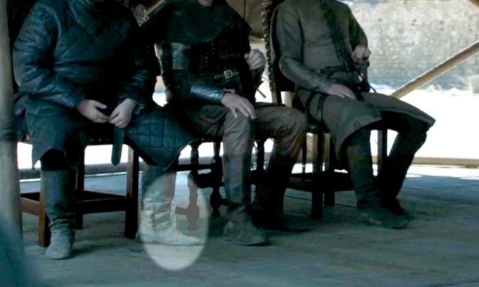 """A plastic water bottle makes a cameo appearance in the final episode of """"Game of Thrones"""" that aired on May 19, 2019. (HBO via CNN)"""
