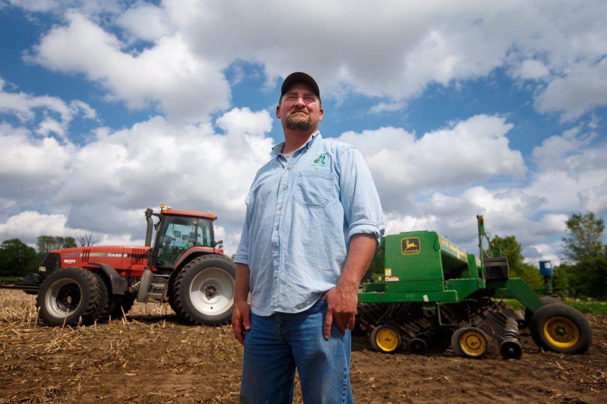 farmer Tim Bardole