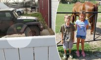 Siblings Sent Outside for Punishment Hear 'Help' Cries & Find Neighbor Trapped Under Jeep