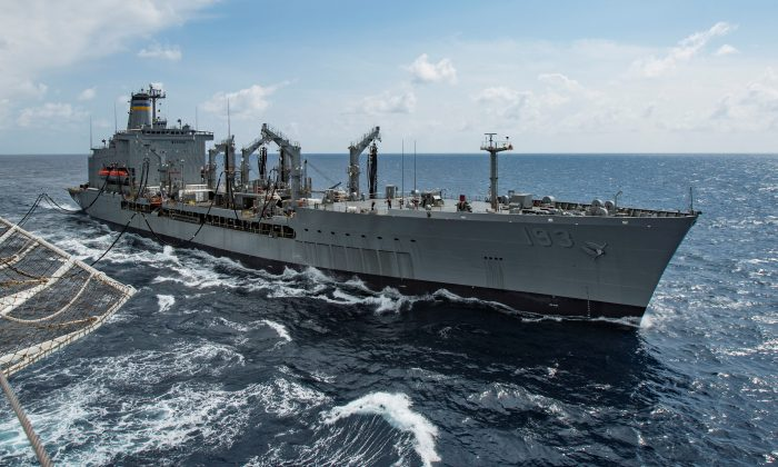 US Navy Again Sails Through Taiwan Strait, Angering China