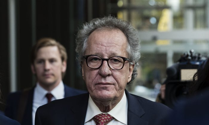 Geoffrey Rush Wanted To Settle For $50K And Apology