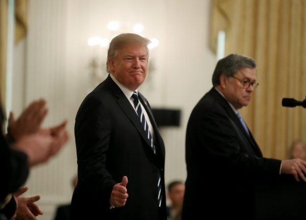 President Donald Trump Presents Public Safety Officer Medal Of Valor