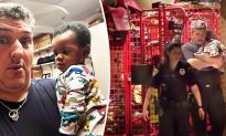 Fire Chief Watches Baby Boy for Mother With Nowhere to Go, Fleeing Abusive Boyfriend