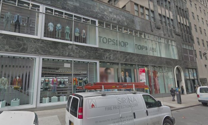 The Topshop in New York City (Screenshot/Google Street View)