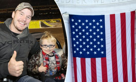 Chris Pratt Honors Memorial Day by Teaching His Adorable Son the Pledge of Allegiance