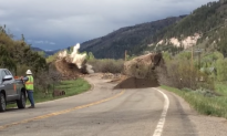 Watch: Massive Boulder That Destroyed Colorado Highway Blasted Apart by Workers