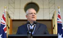 Australia's Scott Morrison Promises to 'Govern Humbly'