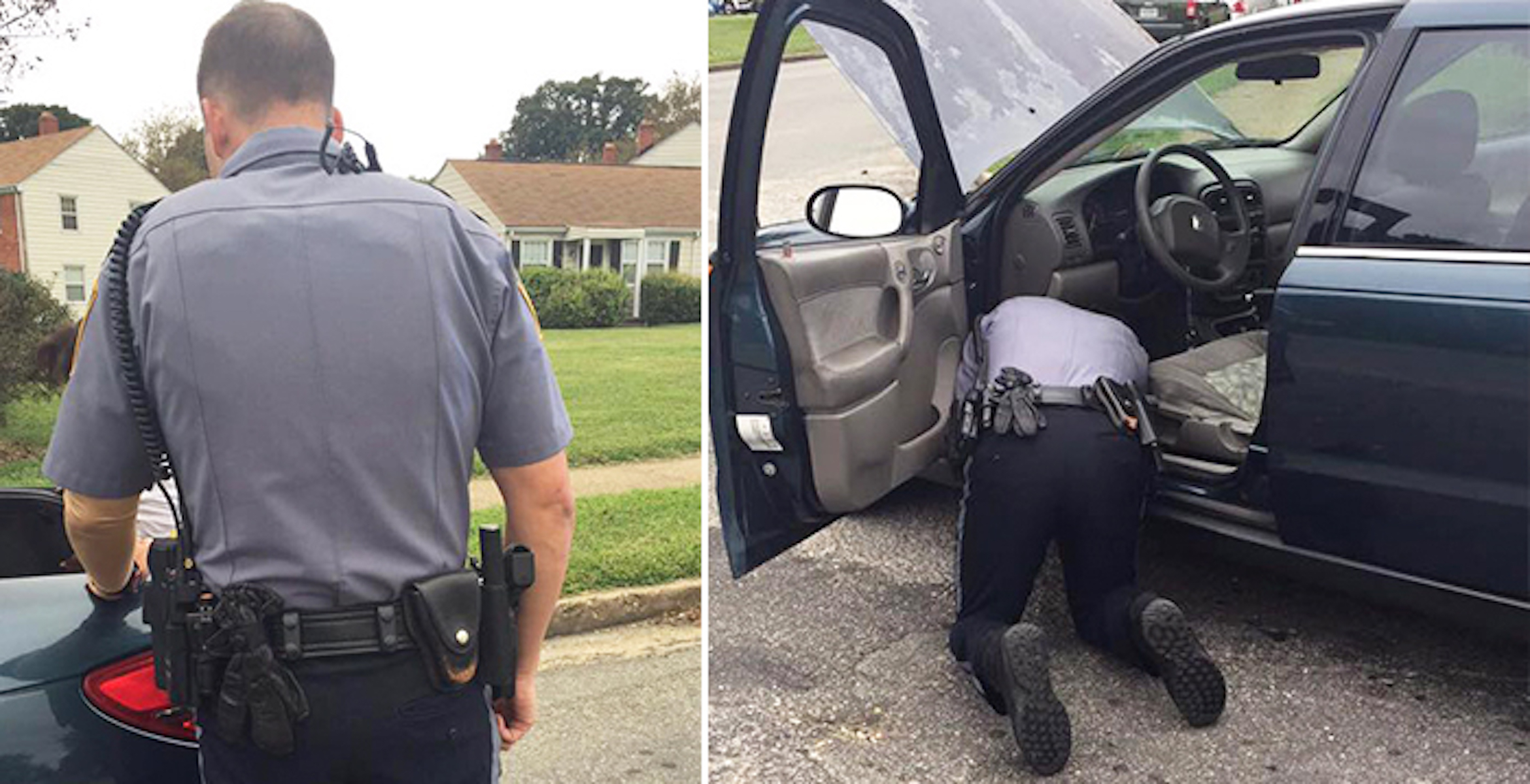Lady Going for Interview Suddenly Gets Pulled Over. Then Cop Asks Her to Pop Up Trunk