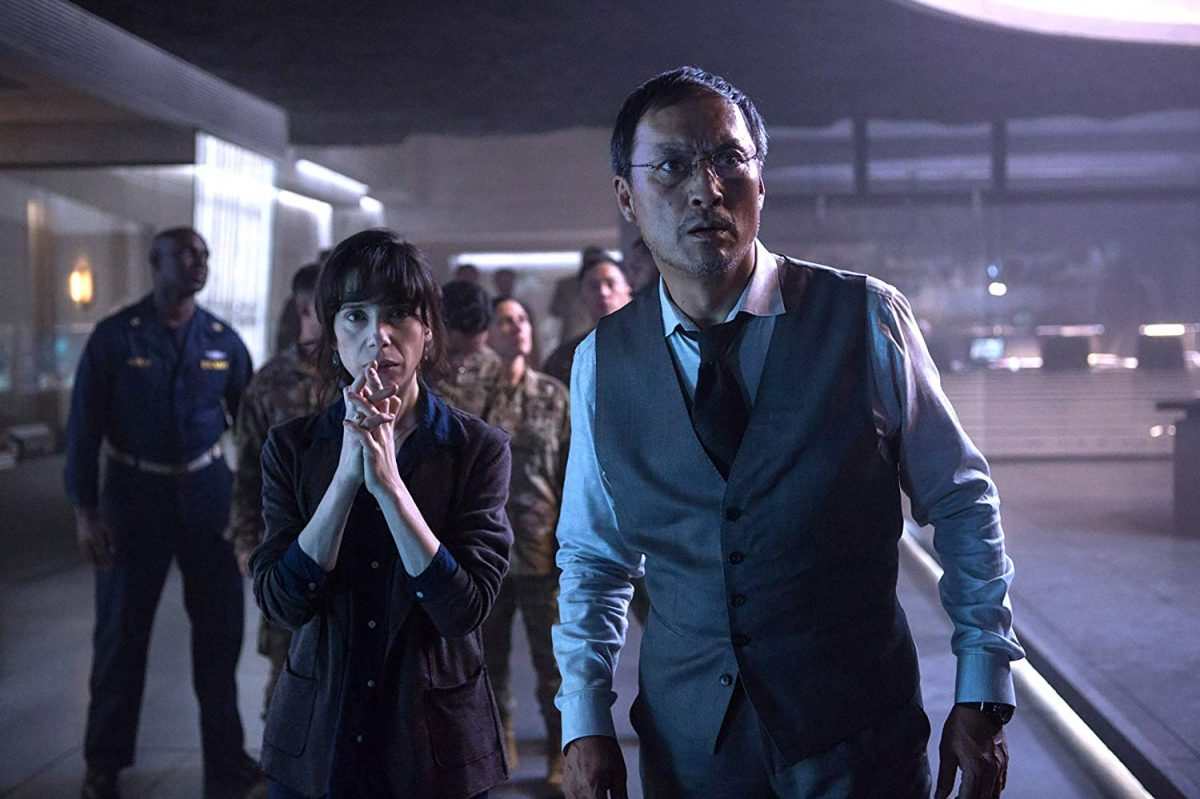 Sally Hawkins and Ken Watanabe in Godzilla, King of the Monsters