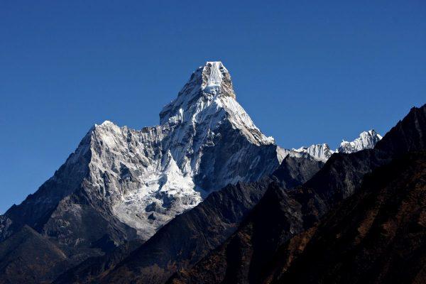 Himalayas mountain peak