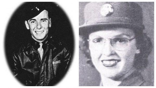 Lt Joseph Heacock and Tec 5 Mary Schulyer