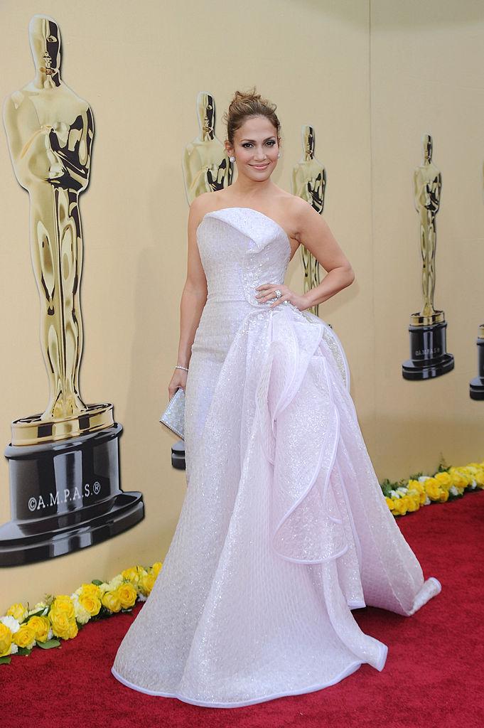 Remember Jennifer Lopez's Gown That Made Her Look Like 'Interstellar Cinderella'?