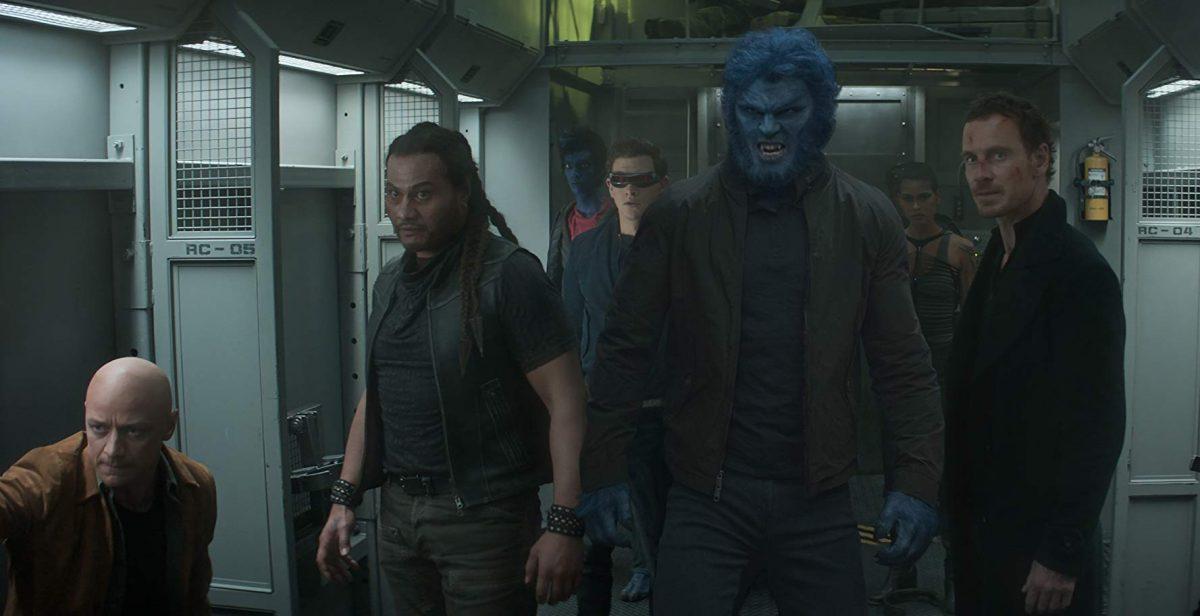 X-men on a train