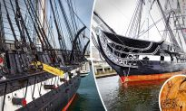 Warship Built in the 1700s Is the Oldest in the World Still Afloat, and It's Still in Service