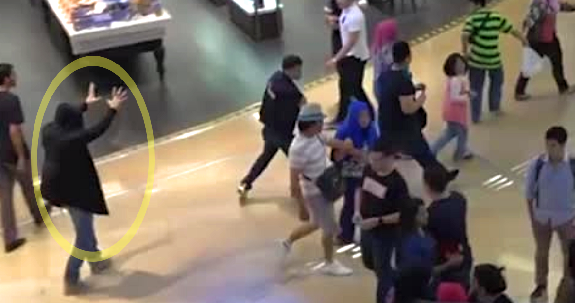 Image result for Superpowered 'Warlock' Wreaks Havoc in Shopping Mall