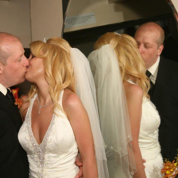 Miranda Schaup-Werner with her husband,