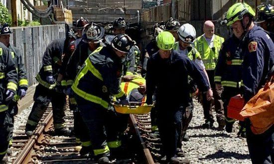 9 Hospitalized When Subway Car Derails in Boston