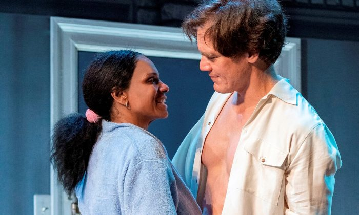 "Audra McDonald and Michael Shannon in ""Frankie and Johnny in the Clair de Lune."" (Deen van Meer)"