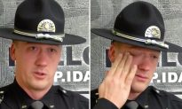 State Trooper Finds Abused Toddler Inside Van and Can't Hold Back His Tears