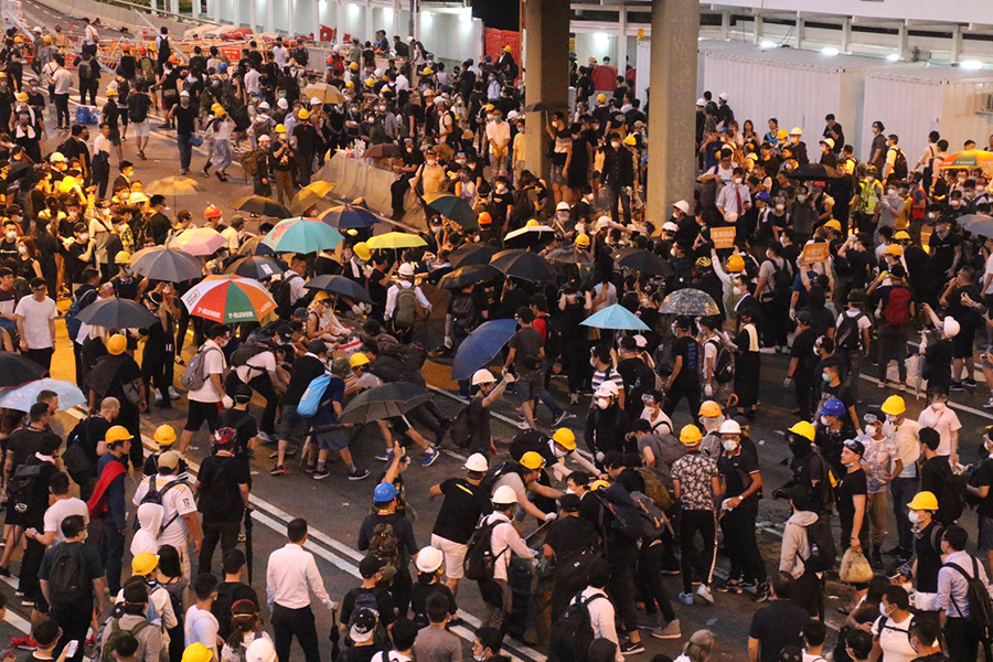 hong kong extradition protest