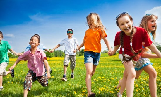 Outdoor Play Is the Best Medicine for Children