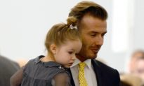 David Beckham Faces Backlash for Sharing Photo of Him Kissing Daughter on the Lips