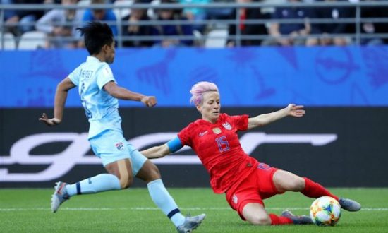 US Women's Soccer Player Ignored the National Anthem Before Game Against Thailand