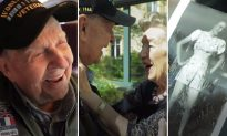 US Veteran, 97, Reunites With His Lost French Sweetheart, 92, He Met During WWII