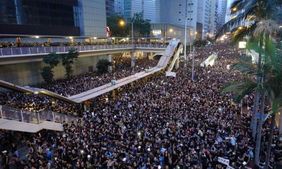 Nearly 2 Million in Hong Kong Protest Extradition Bill, Call for Lam to Resign