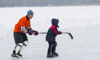 Hockey Dad Plants Mic on 4-Year-Old Son During Game With Video, and It's Hilarious