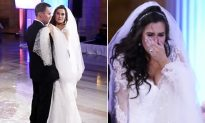 Bride Thinks DJ Ruined First Dance, Lets Out a Scream When She Looks at the Stage