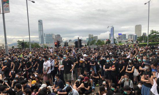 LIVE UPDATES: Thousands Gather Near Hong Kong Leader's Office Demanding to Meet with Carrie Lam