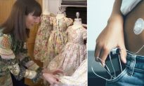 Ex-Cop Turned Seamstress Takes Unusual Dress Request From Child, It Is Now Saving Lives