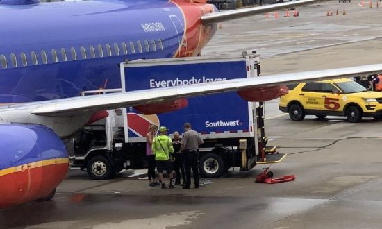 Southwest Airlines Plane Hit by Truck at Airport