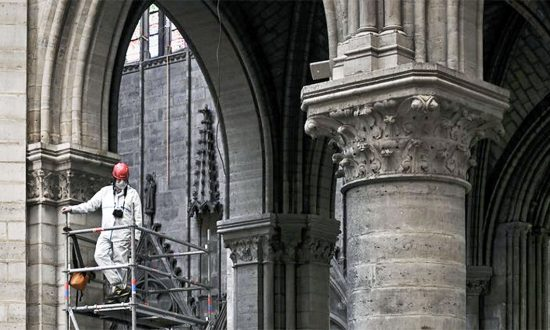 American Donations Lead Fundraising Drive to Fix Notre Dame Cathedral