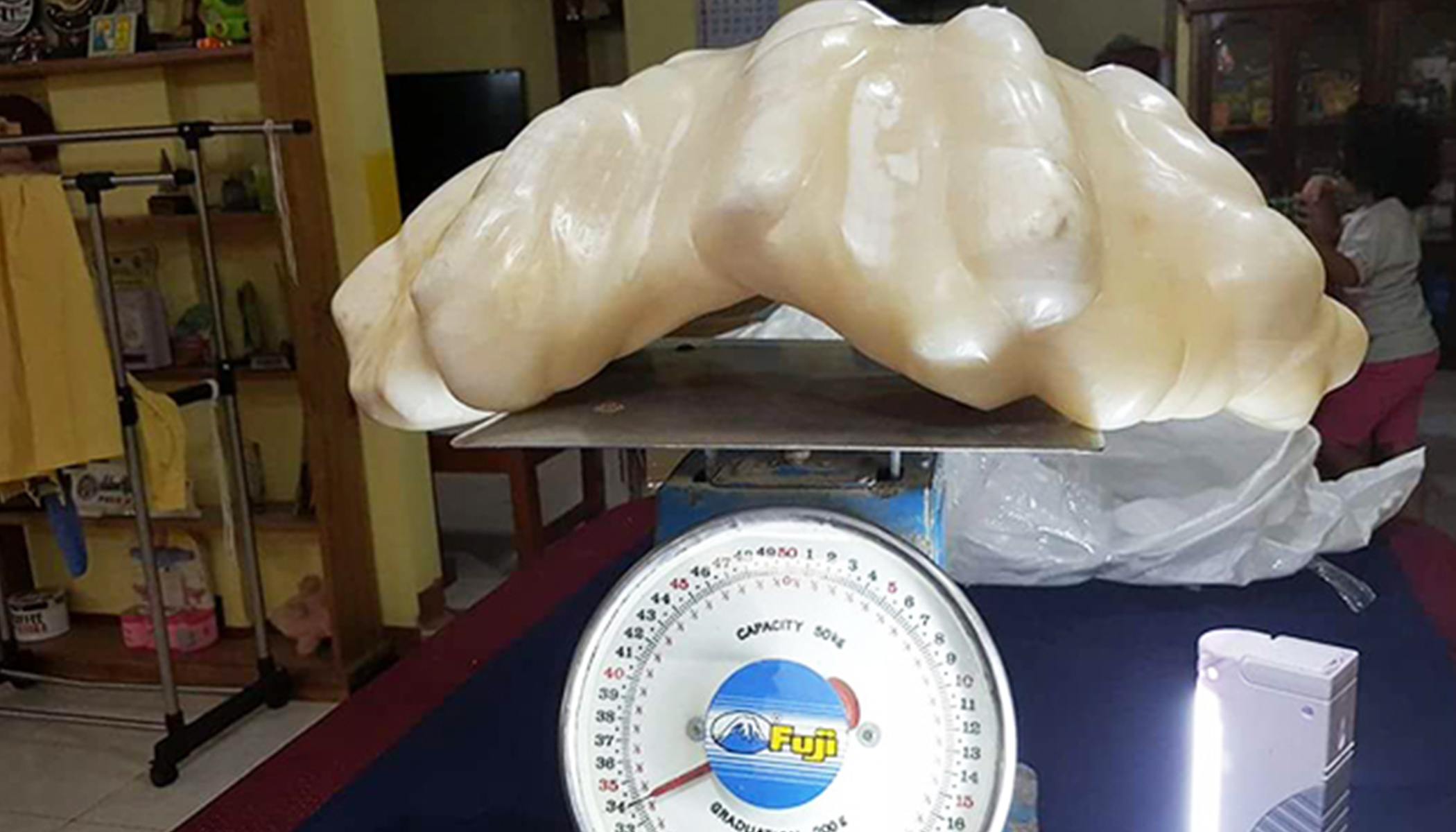 Fisherman Keeps 75lb Pearl Under Bed for Luck, 10 Years Later Stunned to Know Its Worth