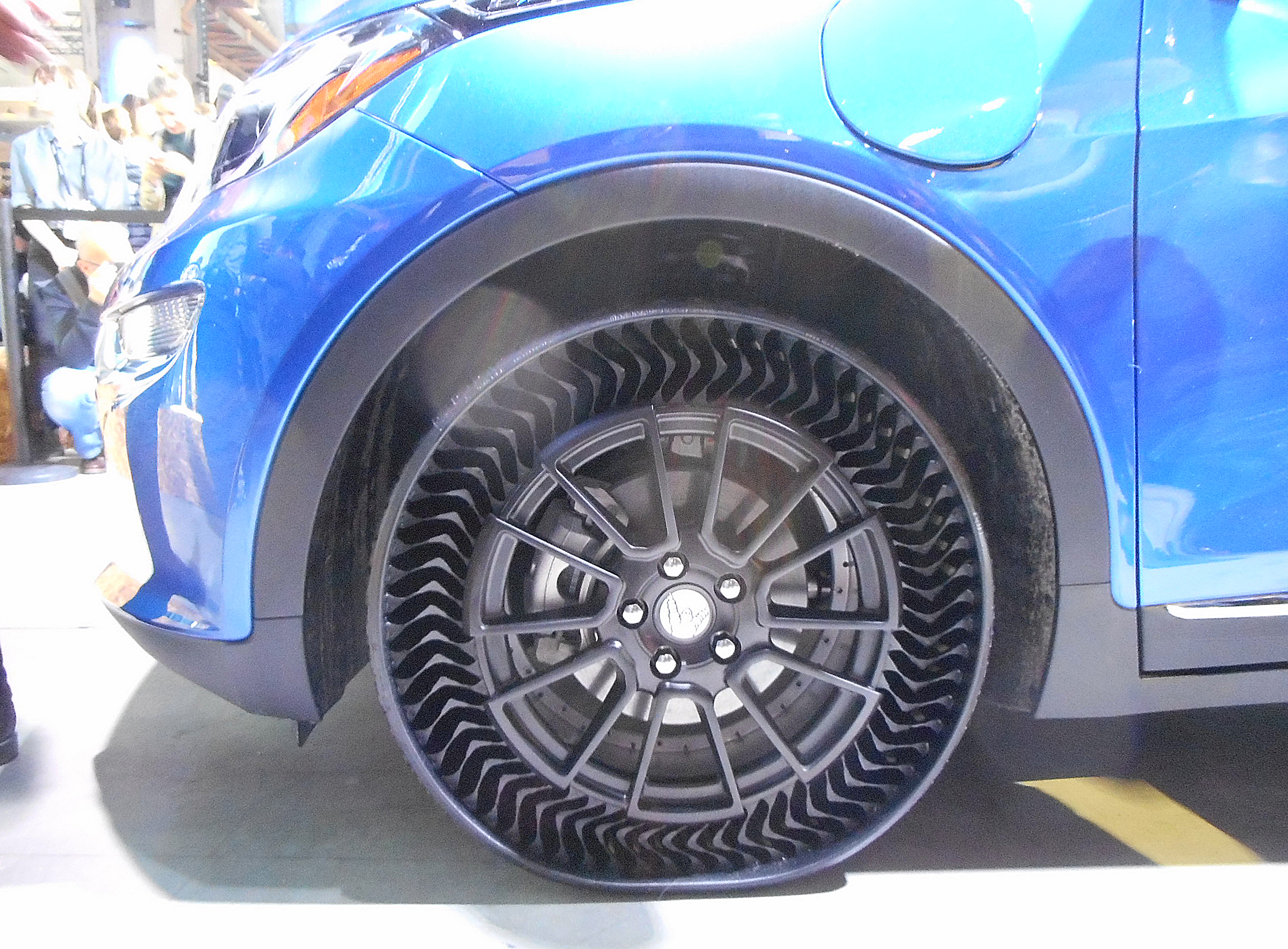 Michelin Uptis Prototype at Movin'On Event