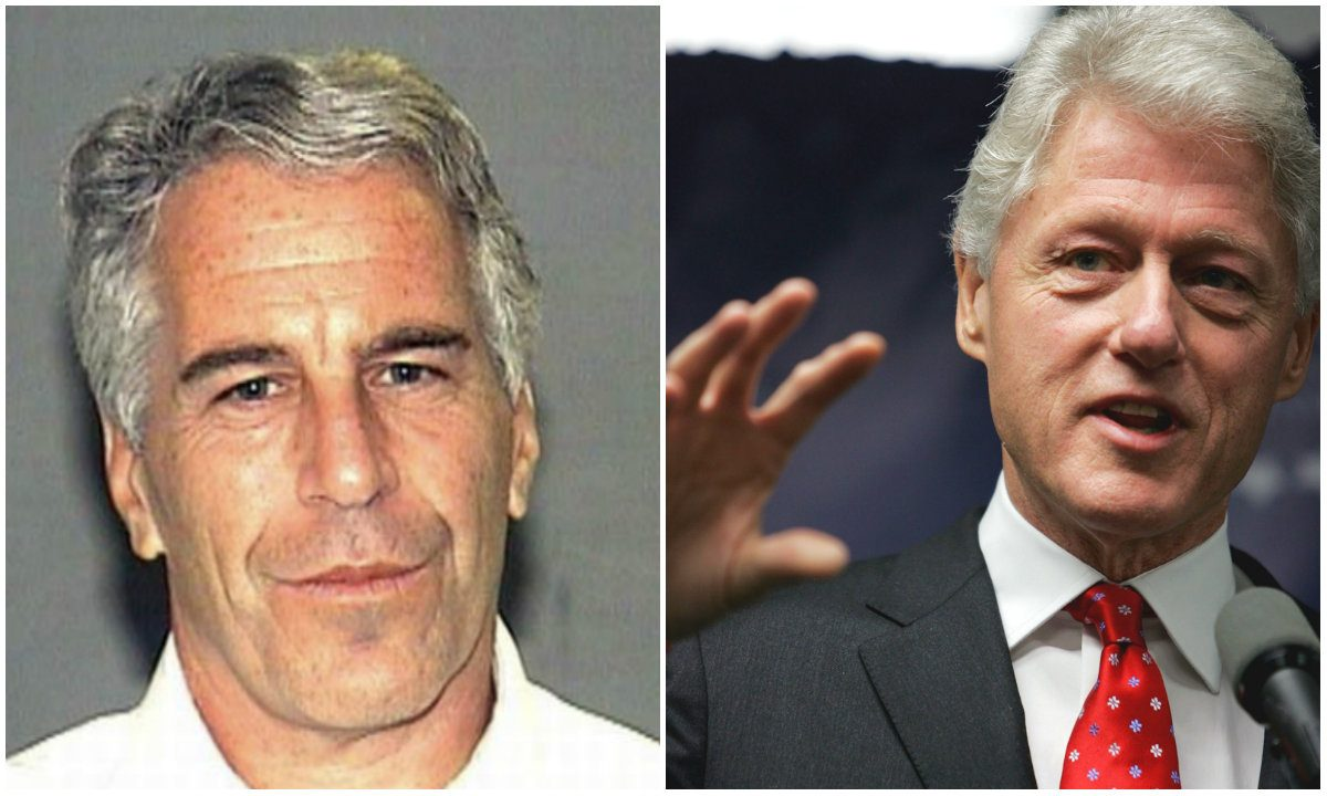 Jeffrey Epstein hung painting of Bill Clinton in drag in his home