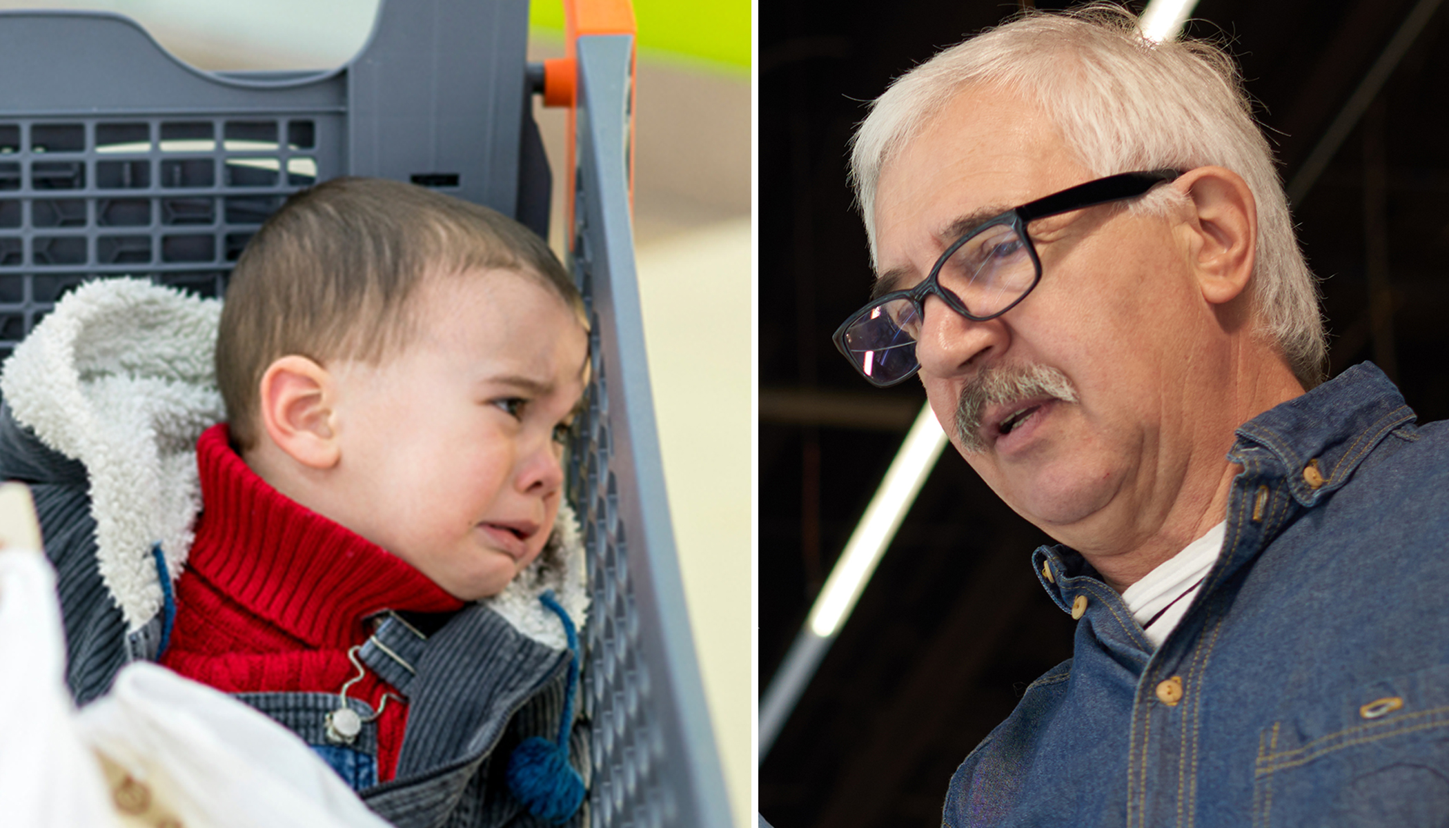Stranger Follows Grandpa and 'Little Brat' in Supermarket, but Didn't Expect Him to Tell Her This
