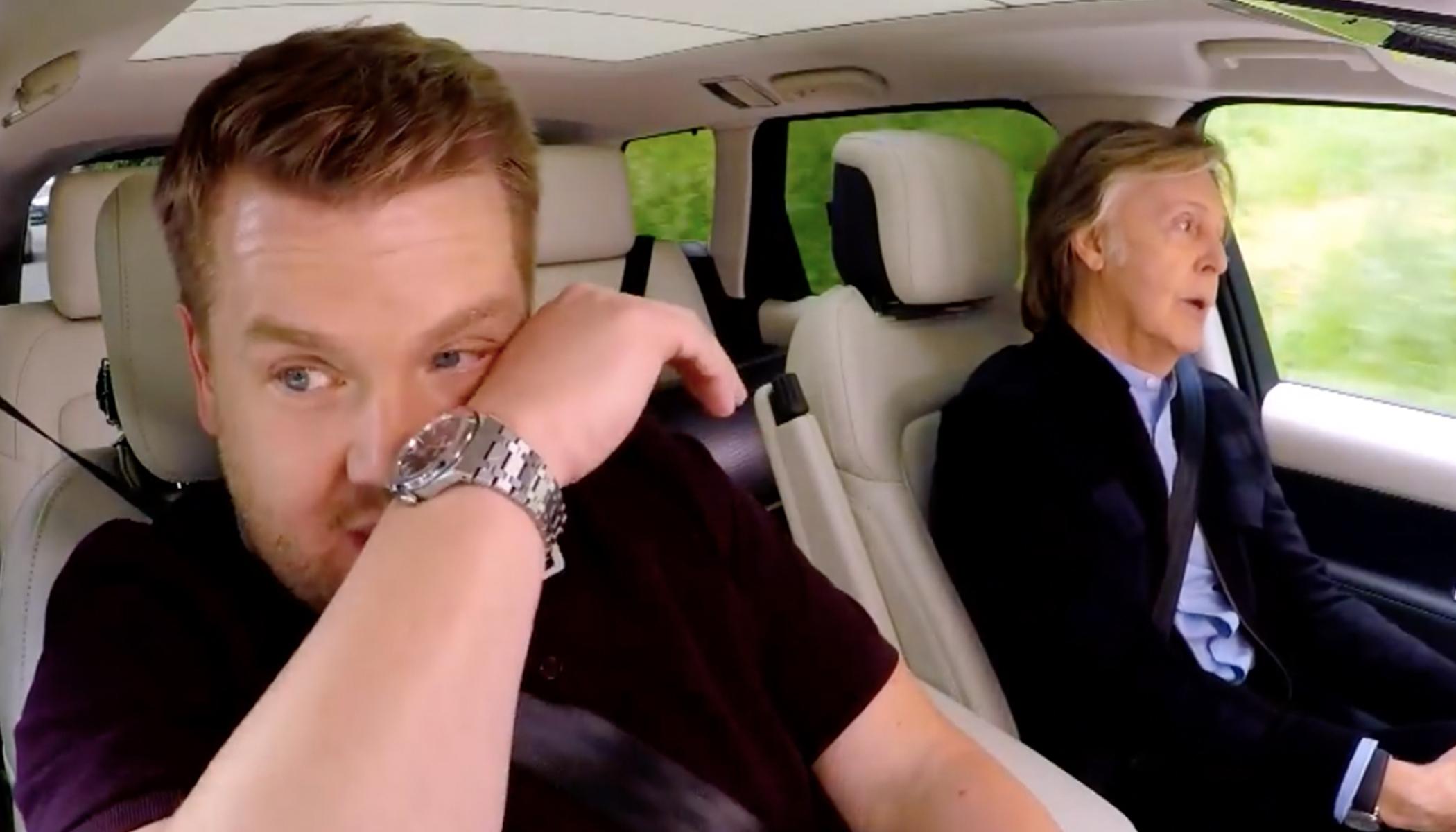 James Corden Left in Tears as Paul McCartney Reveals Incredible Story Behind 'Let it Be'