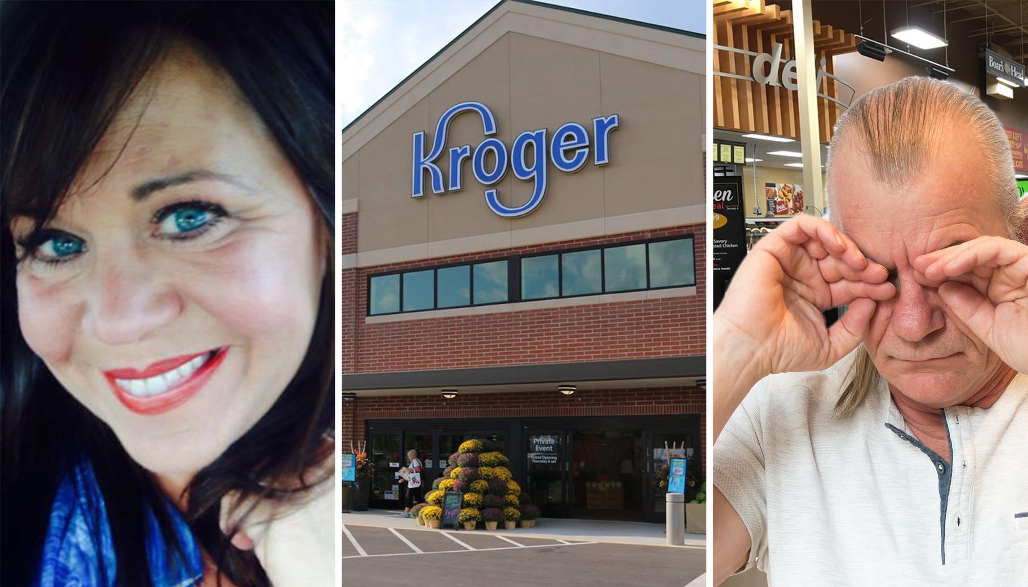 Woman Helps an Old Man Who Had an Accident in Kroger, Restores His Faith in Humanity