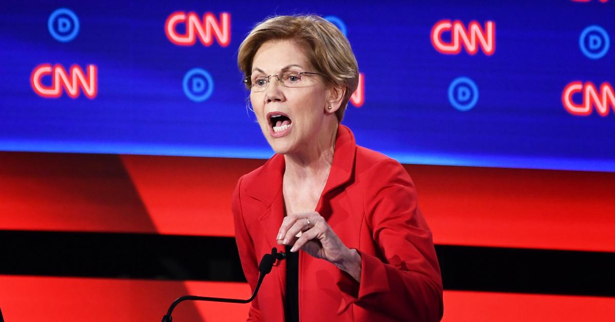 Elizabeth Warren Surges, Nearly Ties Joe Biden in New National Poll