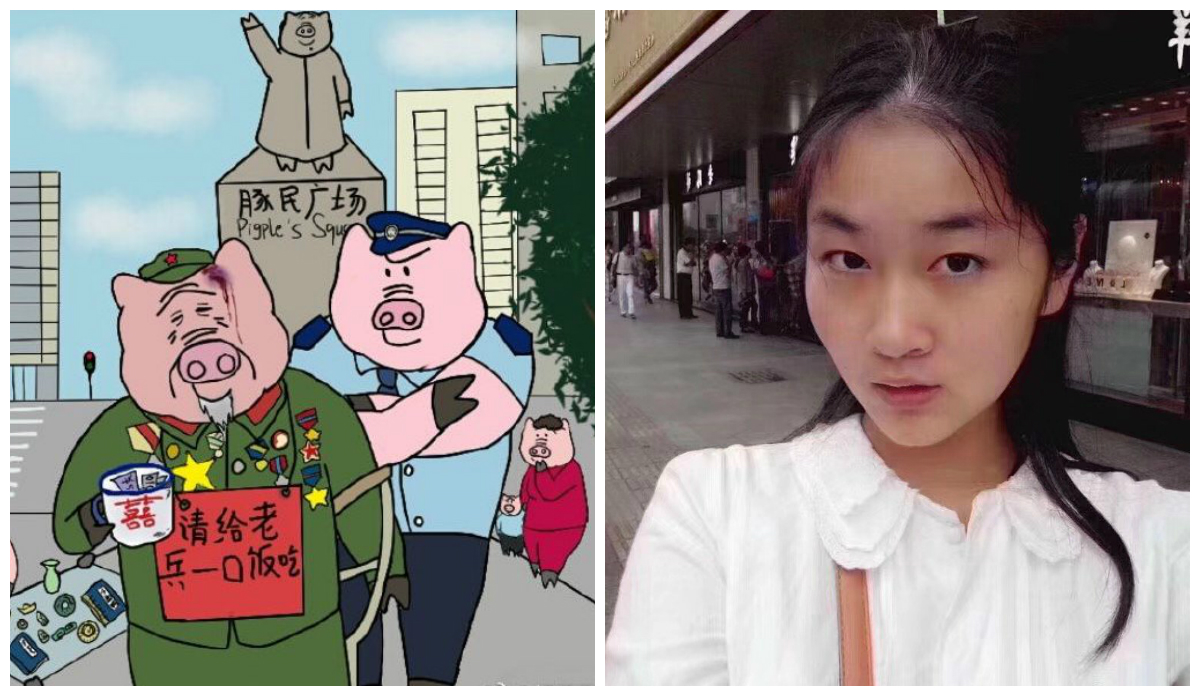 China Jails 22-Year-Old for Drawing 'Insulting' Cartoons