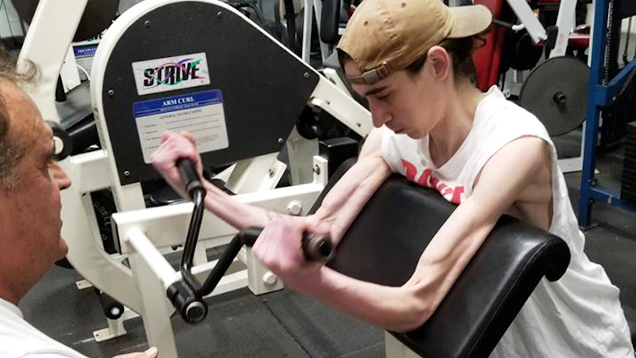 Man With Terminal Illness Refuses to Accept Fate and Starts Hitting the Gym Hard