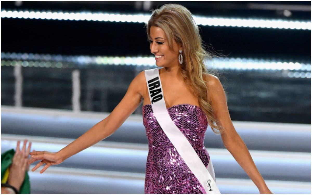 Former Miss Iraq Tangles with Congresswoman Omar on Twitter