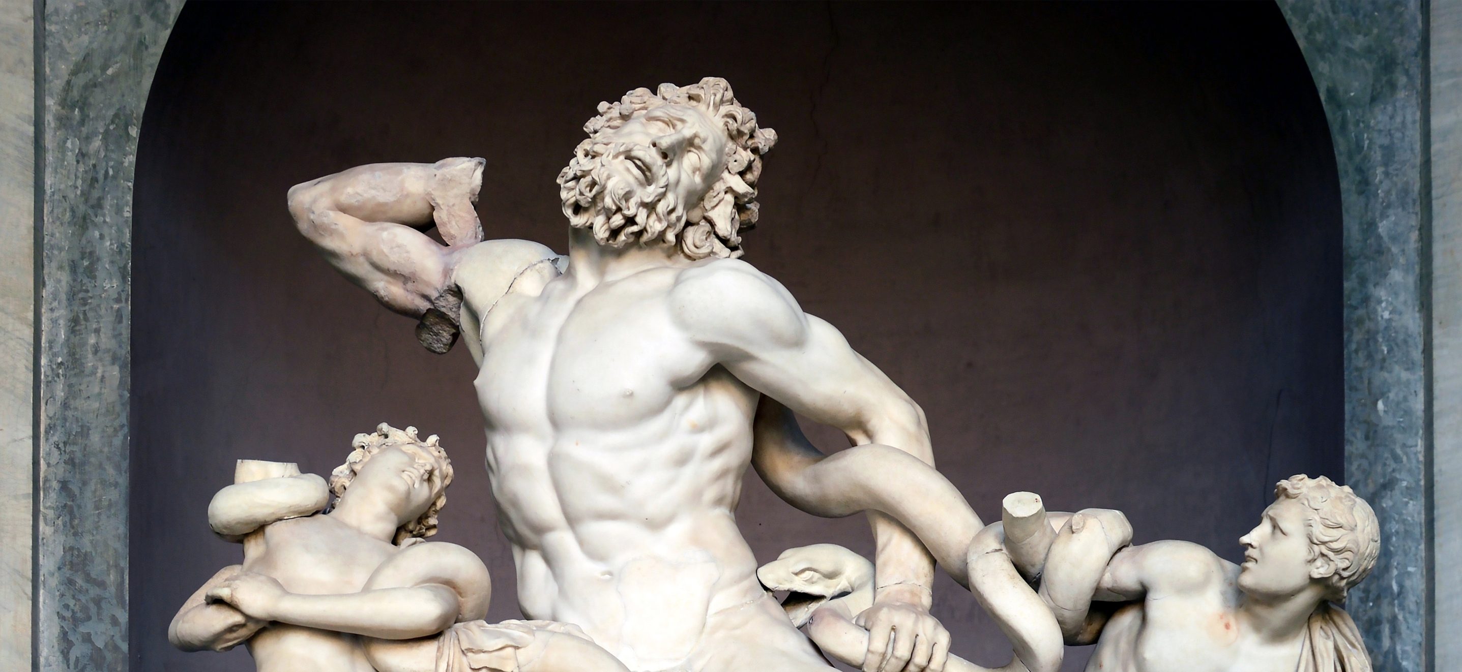 'Laocoön and His Sons': Suffering Unabated, Frozen and Forever