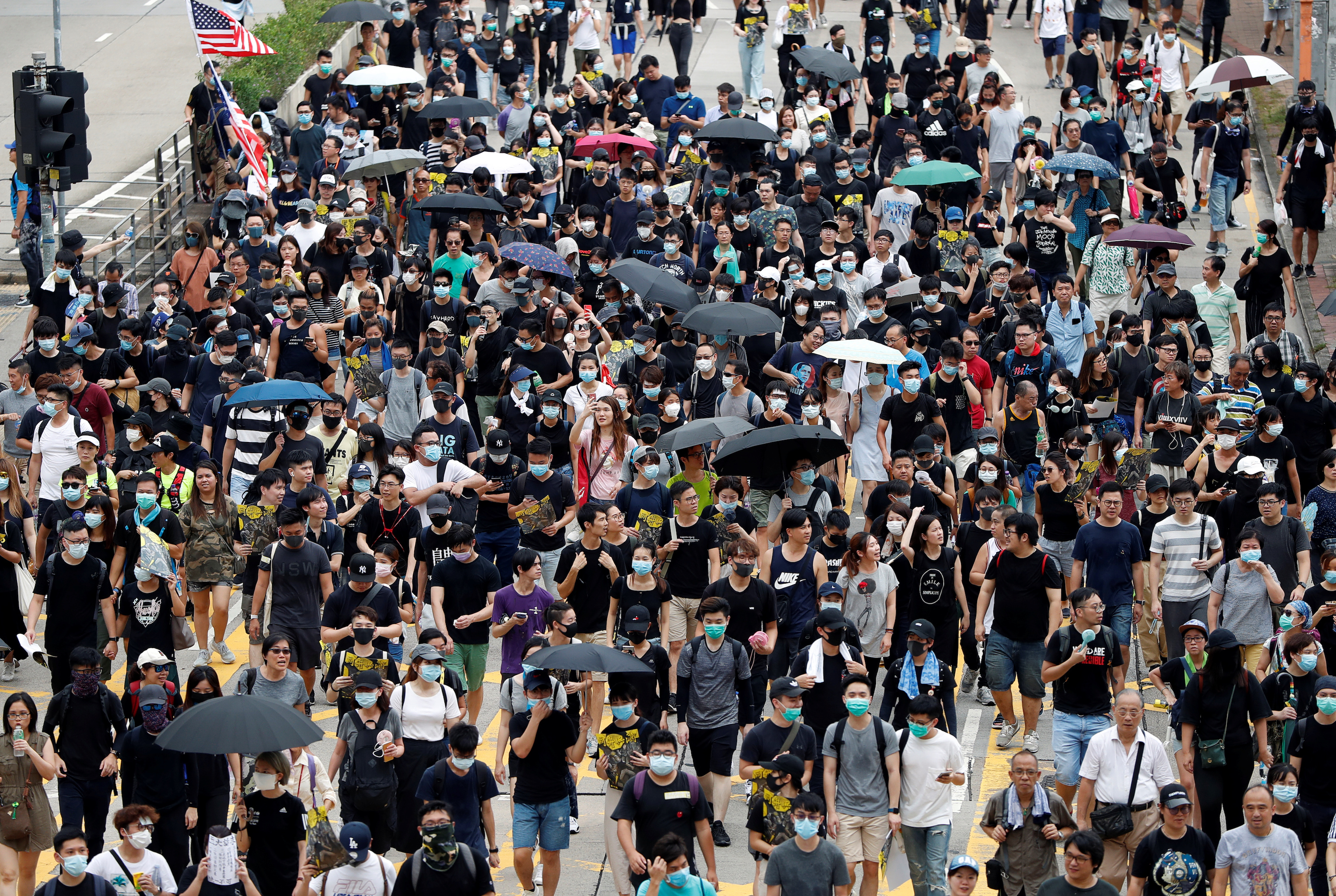 China Expert Warns Hongkongers Beijing Could Launch an Attack on Protesters at This Weekend's Rally